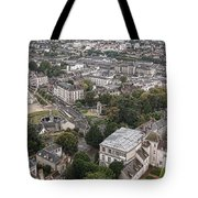 Aerial Chartres Tote Bag