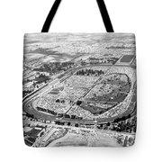 Aerial Of Indy 500 Tote Bag