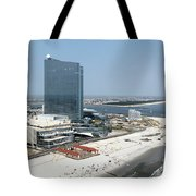 Aerial Of Revel On The Oceanfront Tote Bag