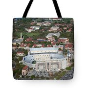 Aerial Of Tiger Stadium Tote Bag