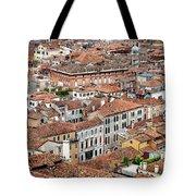 Aerial Of Venice Tote Bag