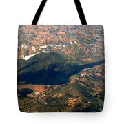 Aerial Photography - Hill Like A Big Mouse  Tote Bag