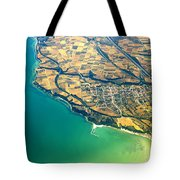 Aerial Photography - Italy Coast Tote Bag