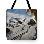 Aerial View From Bush Plane Tote Bag