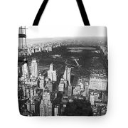 Aerial View Of Central Park Tote Bag