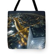 Aerial View Of Tel Aviv Tote Bag