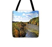 Aerial View Tote Bag