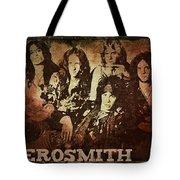 Aerosmith - Back In The Saddle Tote Bag