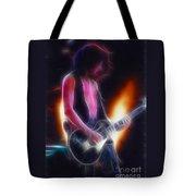 Aerosmith-joe-94-gb26a-fractal Tote Bag
