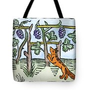 Aesop The Fox & The Grapes Tote Bag