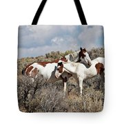 Affection In The Wild Tote Bag