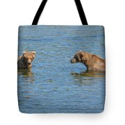 Affectionate Stare Tote Bag