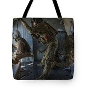 Afghan Air Force Members Tote Bag