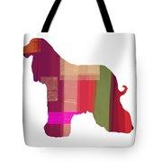 Afghan Hound 2 Tote Bag by Naxart Studio
