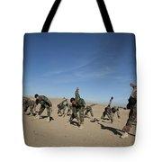 Afghan National Army Commandos Tote Bag