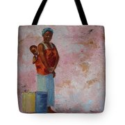 Africa Child Tote Bag