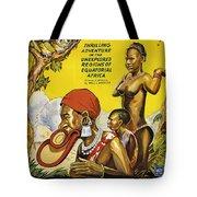 Africa Speaks Tote Bag