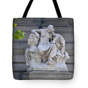 Africa Statue - New York City Tote Bag
