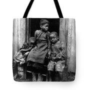 African American Children Tote Bag