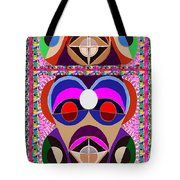 African Art Style Mascot Wizard Magic Comedy Comic Humor  Navinjoshi Rights Managed Images Clawn    Tote Bag by Navin Joshi