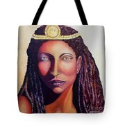 An African Face Tote Bag