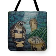 African Black Forest Cobras Tote Bag