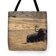 African Buffalo V2 Tote Bag
