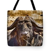 African Buffalo V3 Tote Bag