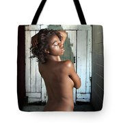 Chynna African American Nude Girl In Sexy Sensual Photograph And In Color 4788.02 Tote Bag