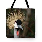 African Crowned Crane 1 Tote Bag