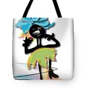 African Dancer 3 Tote Bag