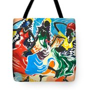 African Dancers No. 2 Tote Bag
