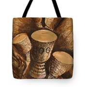 African Drums Tote Bag