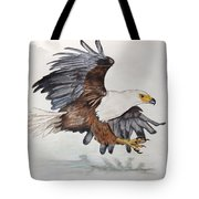African Fish Eagle Tote Bag