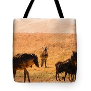African Gathering Tote Bag
