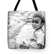 African Girl Remastered Tote Bag