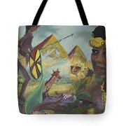 African Gold Tote Bag