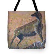 African Hyena Tote Bag