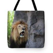 African Lion Roar Tote Bag