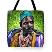 African Look Tote Bag