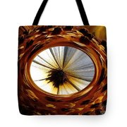 African Moon Abstract Tote Bag