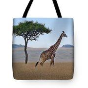 African Safari Giraffes 2 Tote Bag