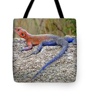 African Safari Lizard Tote Bag