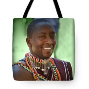 African Smile Tote Bag