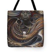 African Spirits I Tote Bag by Ricardo Chavez-Mendez