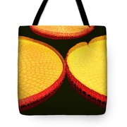 African Water Lilly Platters Tote Bag