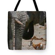 African Waterhole Tote Bag