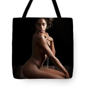 Chynna African American Nude Girl In Sexy Sensual Photograph And In Color 4780.02 Tote Bag