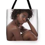 Chynna African American Nude Girl In Sexy Sensual Photograph And In Color 4779.02 Tote Bag
