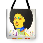 Afro Pam Grier Tote Bag